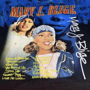 Mary J Blige Vtg Style Tie dye tee 2xl